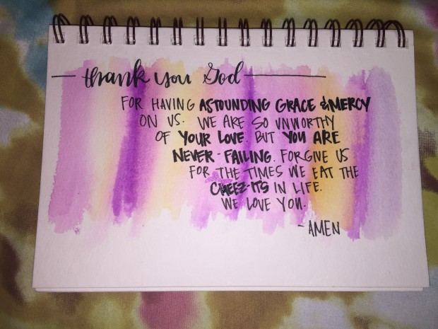 watercolor prayer 1